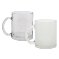 Photo USA sells high quality dye sublimation substrates and products for the promotional and advertising specialty industry including our 10oz glass mugs. - 21000 Clear Glass Mug. Also available:  21002-1, Frosted Out/Clear In